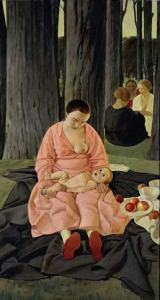 1_felice_casorati-madre_o_maternita_1923-1924